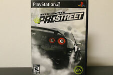 Need for Speed: ProStreet  (Sony PlayStation 2, 2007) *Tested/Complete