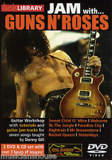 Lick Library Learn To Play Jam con Guns N Roses Sweet Child O Mine Guitarra Dvd