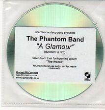 (DD74) The Phantom Band, A Glamour - 2010 DJ CD