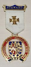 Spilla massonica Inglese 1969 - Royal Masonic Institution for girls - Steward