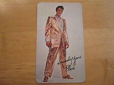1969 Elvis Presley Wallet Calendar Near Mint/Mint Condition