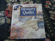 Memory Quilts in the Making book craft book quilting quilt book patterns book