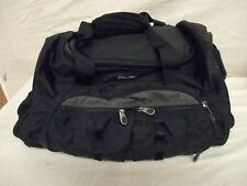 REI Black Nylon Luggage Carry On Gym Duffle Bag 17