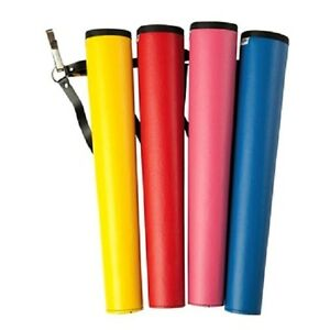 NEET YOUTH archery arrow TUBE Quiver RED childs childrens kids vinyl 17in 06122