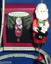 Hallmark Ornament That's Entertainment 1993 Magician Santa Rabbit from Hat Used
