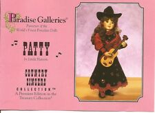 Paradise Galleries PATTY by Linda Hansen  Country Singers Collection.