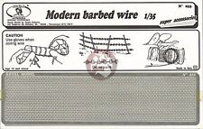 Royal Model 1/35 Modern Barbed Wire [Photo-etch Diorama Accessory] 033