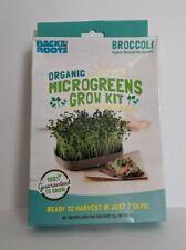Back to the Roots Organic Microgreens Grow Kit Broccoli 0988