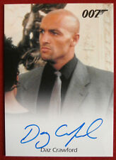 James Bond - The World Is Not Enough - Daz Crawford - Henchman - Autograph Card