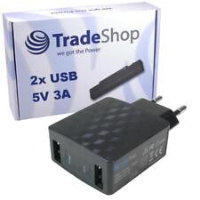 2-fach Mehrfachstecker 3A USB Netzteil Ladegerät für Microsoft Nokia Smartphone