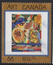 g677) Canada. 1995. Used. SG 1629 88c 'Floraison' Canadian Art