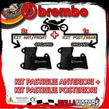 BRPADS-49634 KIT PASTIGLIE FRENO BREMBO PIAGGIO BEVERLY 2003- 500CC [ORGANIC+ORG