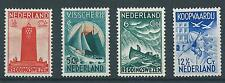 1933TG Nederland Zeemanszegels NR.257-260 postfris, mooie serie!!
