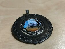 More details for 1930 hallmarked silver & enamel shooting medal s.h.a.r.l. thomas skelton chester