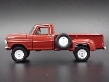 1972 FORD F-100 CUSTOM 4X4 TRUCK 1:64 DIECAST COLLECTIBLE DIORAMA MODEL CAR