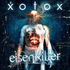 Xotox Hierro asesino CD metal-band logotipo 2012 ltd.300