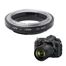 FD-EOS Mount Adapter Ring For Canon FD Lens to EF EOS Mount Camera Camcorder New
