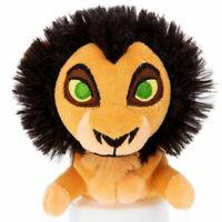 Lion King Scar Chokkorisan Plush Doll Stuffed Toy Sitting T-ART Mini Takara Gift