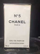 CHANEL NO 5 3.4 oz ( 100 ml ) Eau De Parfum SPRAY Women NEW IN BOX SEALED