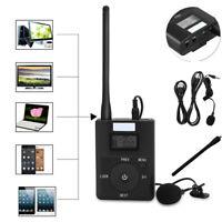 3.5MM Wireless FM Transmitter Portable Stereo Radio Broadcast Adapter w/Antenna