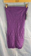 French Connection Sleeveless Tube Top Bandage Dress Purple sz 4 NWT*