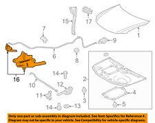 Scion TOYOTA OEM 11-12 tC Hood-Lock Latch 5351021040
