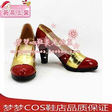 Fairy Tail Mirajane·Strauss cosplay shoes boots 2313 hot