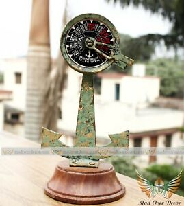 Ship/Boat Telegraph Speed Controller Mini Nautical Wooden Brass Handmade Decor