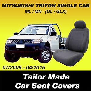 Car Seat Covers MITSUBISHI TRITON SINGLE CAB ML MN GL GLX 2006 - 04/2015