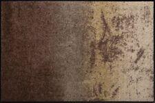 Salonloewe Shabby Brown waschbare Fußmatte Schmutzmatte Farbverlauf