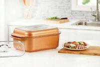 Copper Chef Wonder Cooker 12.5 Qt Non-stick Roasting Pan Oven Safe All Cooktops