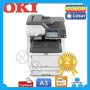 OKI MC853dn 4in1 A3 Color Laser MFP Printer+Duplexer+3Yr Wty P45850406 *Ex-Demo*