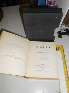 LIBRO: DE LA DOULEUR - MONSEIGNEUR BOUGAUD - LIBRAIRIE V CH.POUSSIELGUE 1909