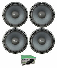 "Two Pair of Timpano 12"" 3200W 8 Ohm Pro Audio Mid Range Loudspeaker MD12PRO"