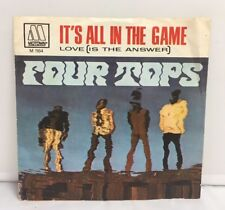 """Four Tops – It's All In The Game - 7"""" Vinyl Motown"""