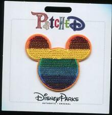 Rainbow Mickey Icon Patch Disney Patched Patches
