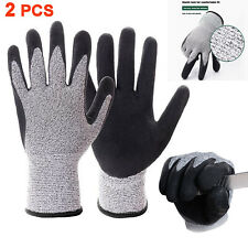 1pair Butcher Gloves Cut Proof Stab Resistant Safety Glove Kitchen Cutting Glove