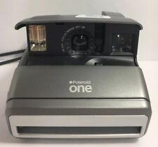 Vintage Polaroid One 600 Classic Auto Focus Camera Silver With Strap