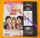 VHS film IL DIARIO DI BRIDGET JONES Zellweger Grant SPEAK UP inglese(F87)no dvd