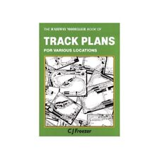 PECO Pb-66 The Railway Modeller Book of Track Plans for Various Locations 1st PO