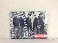 Shinee Five First Edición Limitada Tipo B CD DVD Foto Folleto Tarjeta Japan de F