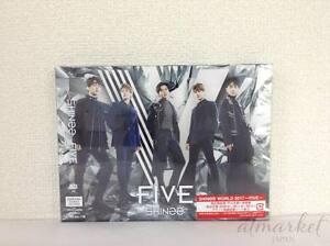 Shinee Cinq First Édition Limitée Type B CD DVD Photo Livret Carte Japan Neuf F/