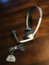 Microsoft Xbox 360 White Genuine Original Headset Set