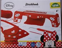 Minnie Mouse Knitting Board Set Disney Age 6+ Years Brand New Free UK Delivery
