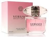 Versace Bright Crystal 3.0 oz / 90 ML Spray Eau De Toilette -BRAND NEW & SEALED