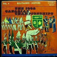 1962 CANADIAN BUGLE CHAMPIONSHIPS vol. 4 militaires - jesters LP VG+ ISLP 2096