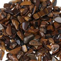 100g Bulk Tiger Eye Tumbled Stones Rock Small Natural Crystal Crafts Decor HF