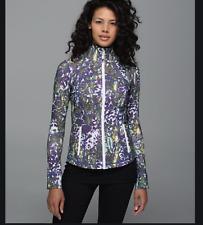 Lululemon Define Jacket Floral Sport White Multi sz 8 (/13