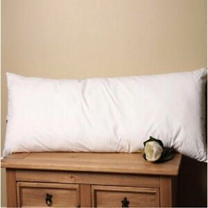 Pack of 2 Super King Size Goose Feather & Down Pillows - 85% WGF 15% WGD