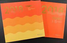 China PRC 2018 Jahrbuch im Schuber Year Book Annual Stamp Album Postfrisch MNH